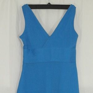 J. Crew, Size 2 Petite Sophia Silk Blue Dress